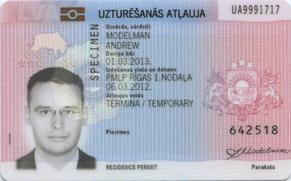 ID карта ВНЖ в Латвии