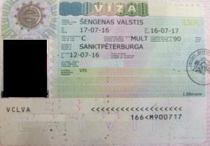 шенген мульти виза