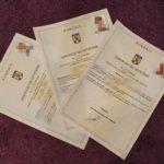 Румынский сертификат о гражданстве