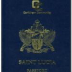 Сент-люсия паспорт